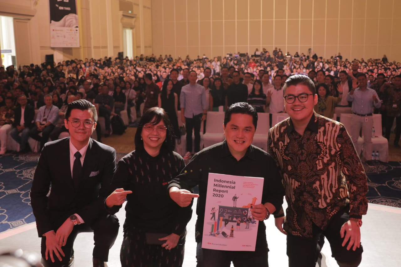 Indonesia Millennial Summit 2020: The Opening of Indonesia Millennial Summit 2020 by Erick Thohir