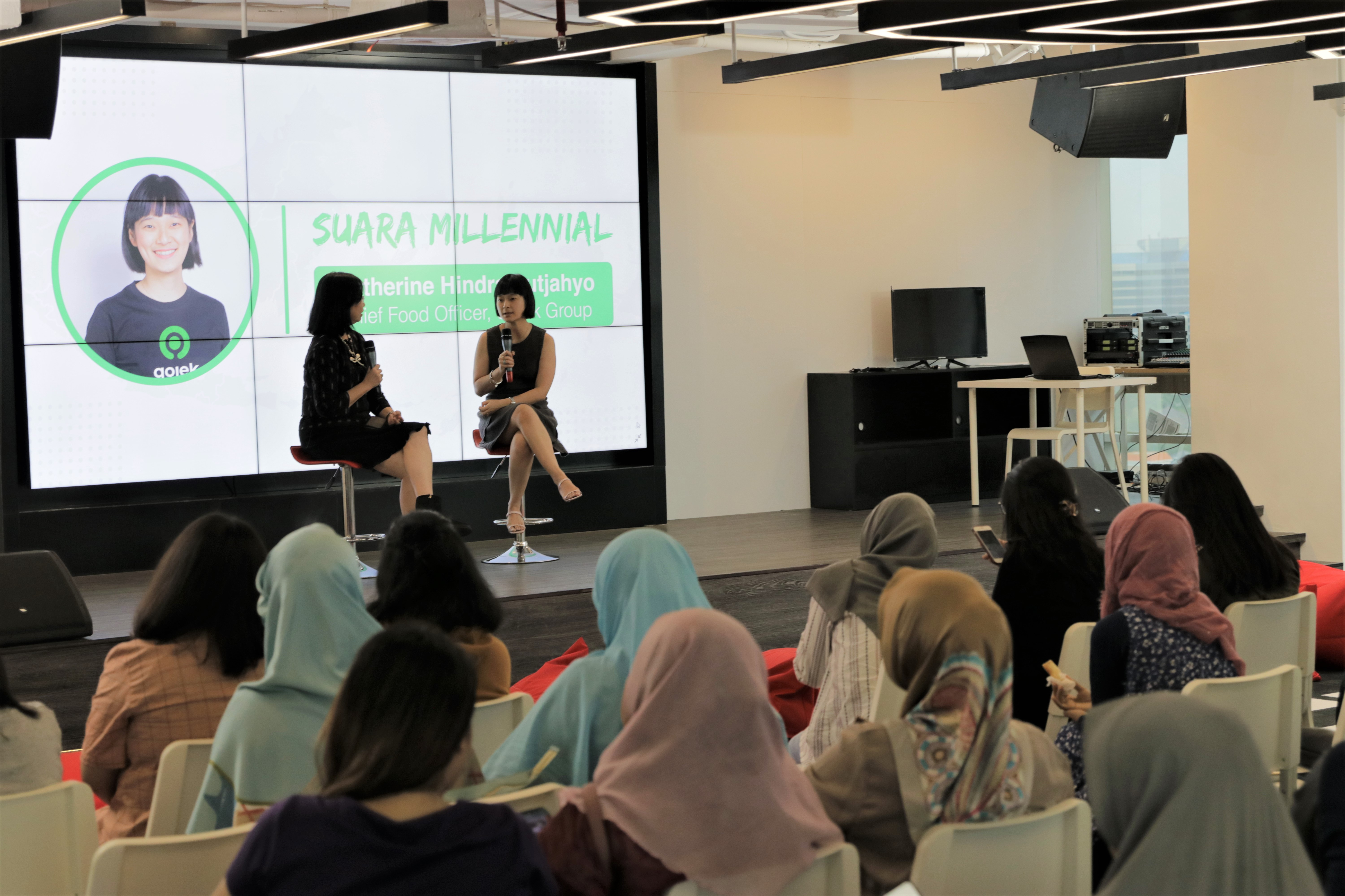 Catherine Hindra Sutjahyo at IDN Times Suara Millennial: Empowerment Should Touch All Elements