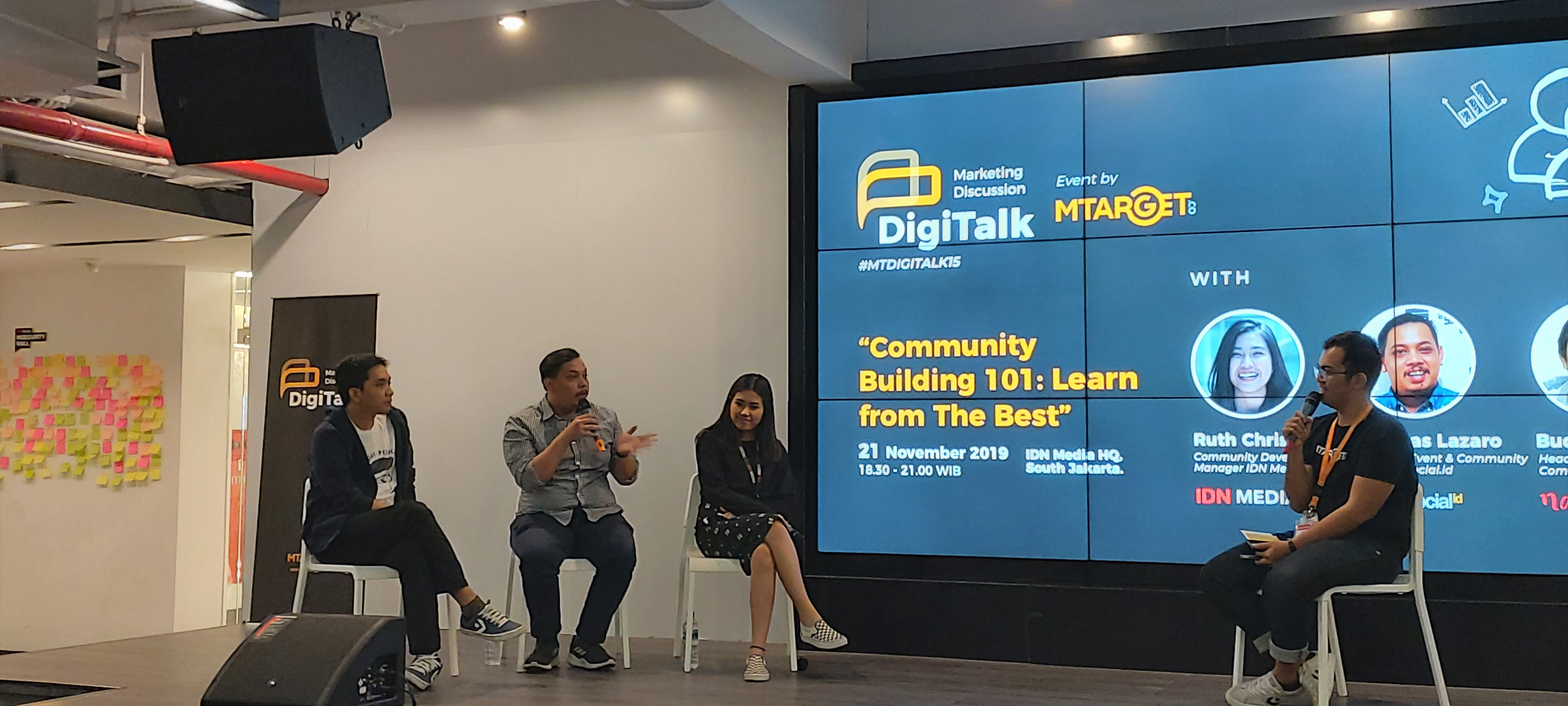 Digitalk at IDN Media: Media Companies to Create Content, Collaboration, and Community