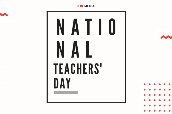 The National Teachers' Day: One in a Literal Way from Our Timmys