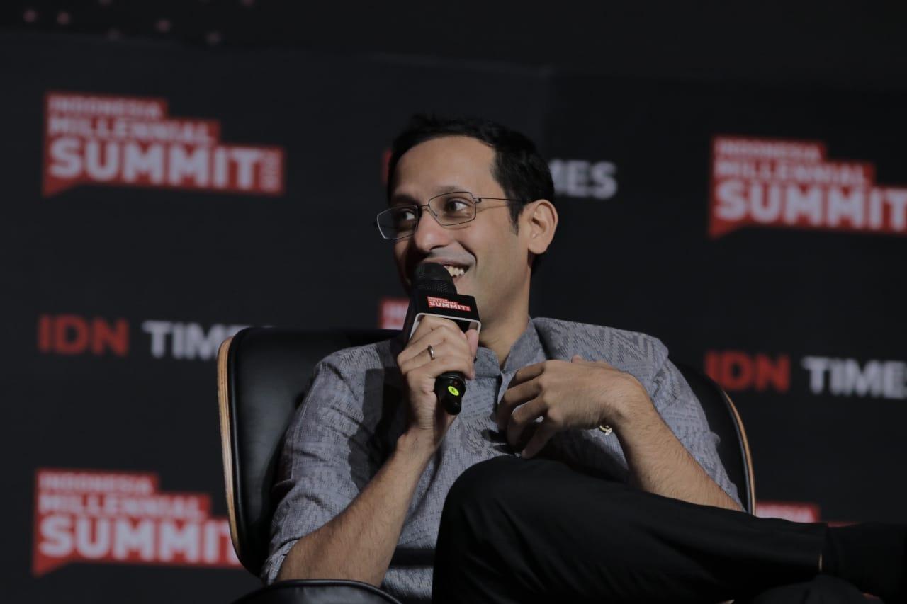 Indonesia Millennial Summit 2020: Nadiem Makarim Mentioned 3 Points for Millennials and Gen Z