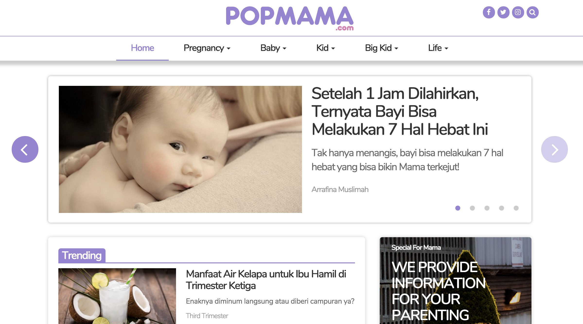 IDN Media Launched Popmama.com, a Parenting Guide for Millennial Mama