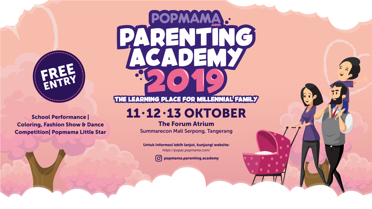 Popmama Parenting Academy 2019, One-Stop Learning for All Parenting-Stages